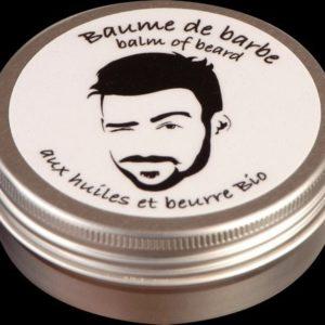 Baume à barbe aux huiles et beurre Bio