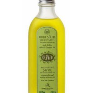 Huile sèche à l'huile d'olive et l'huile d'onagre Bio
