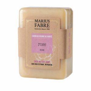 Savonnette au beurre de karité à la rose - Marius Fabre