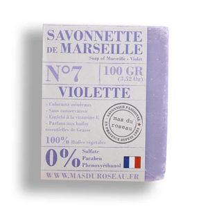 Savonnette de Marseille à la violette