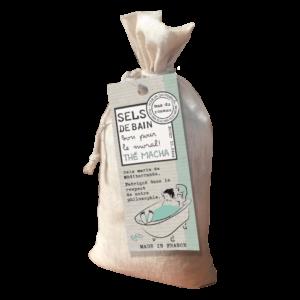 Sels de bain de Méditerranée au thé matcha