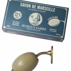 Support mural et savon de Marseille Marius Fabre